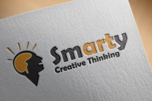 Smarty: a Creative Logo Design Template Graphic By denestudios