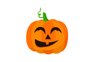 Smiling Carved Pumpkin - Halloween Halloween Craft Cut File By Creative Fabrica Crafts