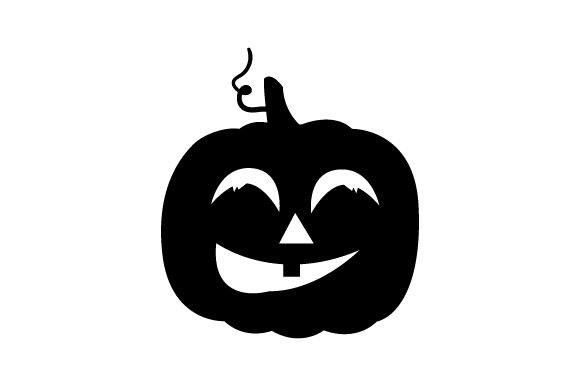 Download Free Smiling Carved Pumpkin Halloween Svg Cut File By Creative for Cricut Explore, Silhouette and other cutting machines.