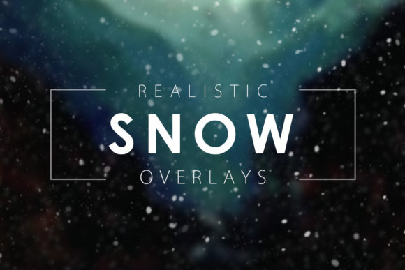 Print on Demand: Snow Overlays Graphic Textures By ArtistMef