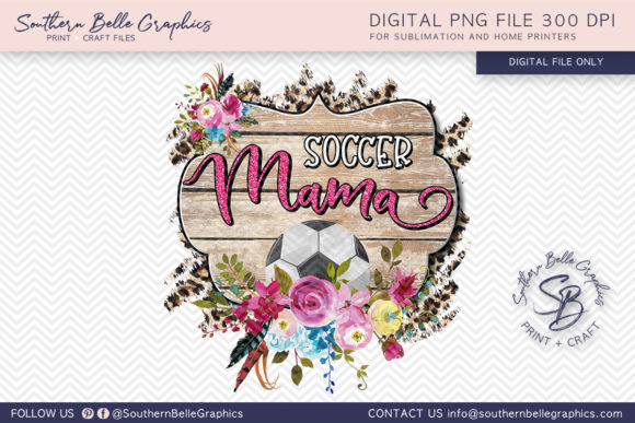 Soccer Mama Graphic Crafts By Southern Belle Graphics