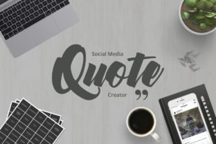 Social Media Quotes Creator Graphic By Web Donut