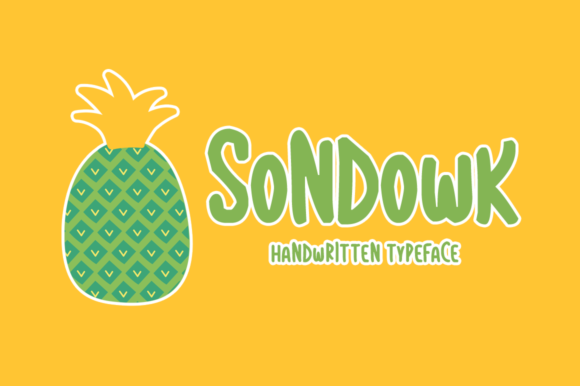 Print on Demand: Sondowk Display Font By Shattered Notion
