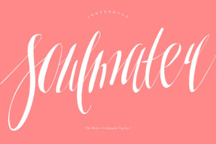 Print on Demand: Soulmater Script & Handwritten Font By Maulana Creative