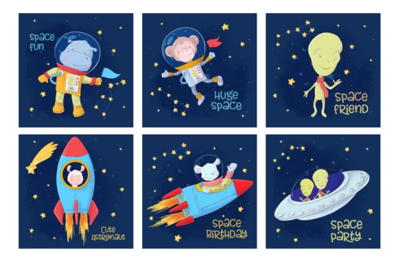 Space – Vector Clip Art Graphic By nicjulia Image 2