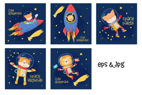 Space – Vector Clip Art Graphic By nicjulia Image 3