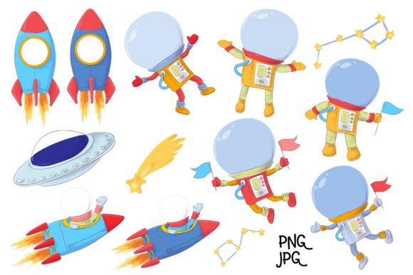 Space – Vector Clip Art Graphic By nicjulia Image 7