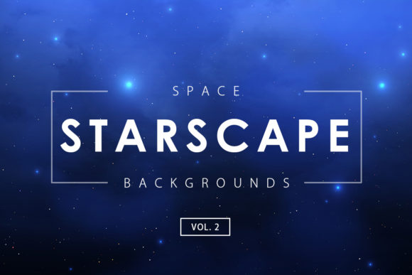 Print on Demand: Space Starscape Backgrounds 2 Graphic Backgrounds By ArtistMef
