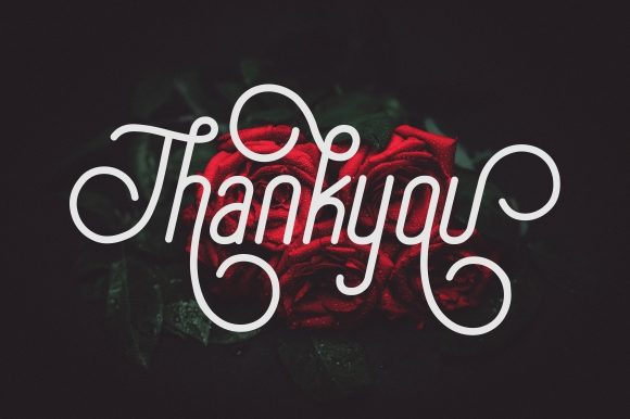 Special Thanks Font By memetxsaputra Image 10