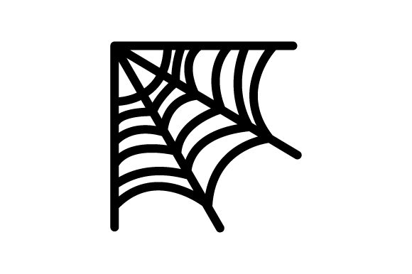 Download Free Spider Web Design Halloween Svg Cut File By Creative Fabrica for Cricut Explore, Silhouette and other cutting machines.