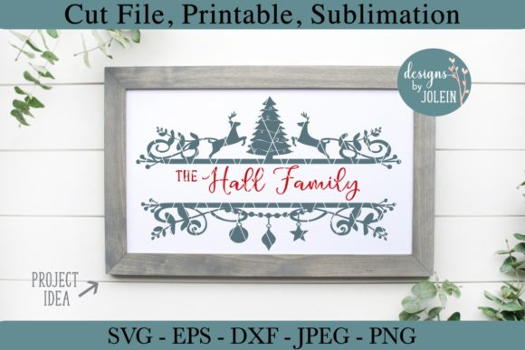 Print on Demand: Split Christmas Designs Graphic Crafts By Designs by Jolein - Image 2
