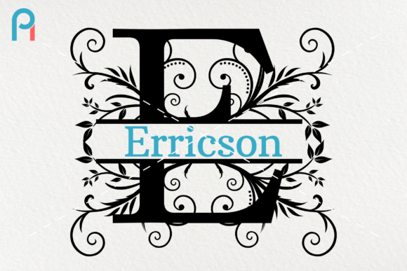Download Free Split Letter Monogram Graphic By Pinoyartkreatib Creative Fabrica for Cricut Explore, Silhouette and other cutting machines.