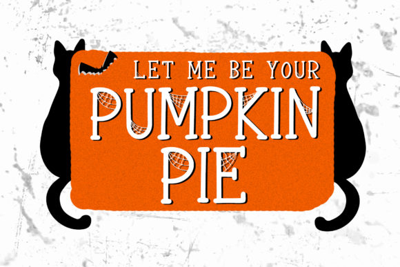 Print on Demand: Spooky Webbie Display Font By dmletter31 - Image 2