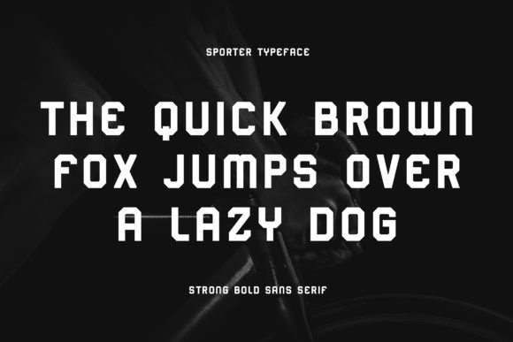 Print on Demand: Sporter Sans Serif Font By Blankids Studio - Image 4