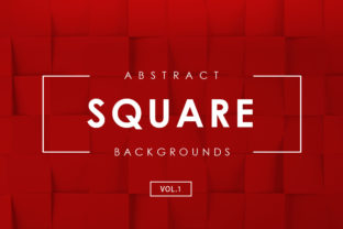Download Free Square Abstract Backgrounds 1 Graphic By Artistmef Creative for Cricut Explore, Silhouette and other cutting machines.