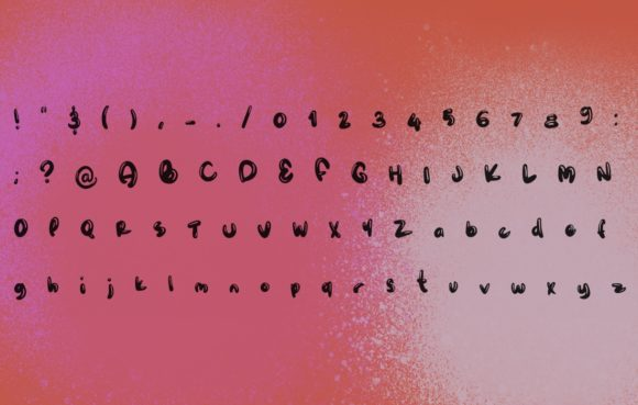 Squishy Font By Lunarctic Creative Fabrica