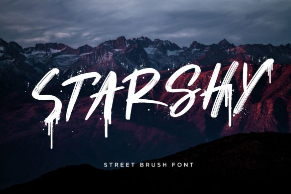 Print on Demand: Starshy Display Font By CreatypeStudio
