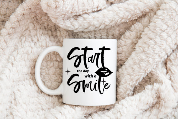 Download Free Start The Day With A Smile Svg File Graphic By Creatives By Lamm SVG Cut Files
