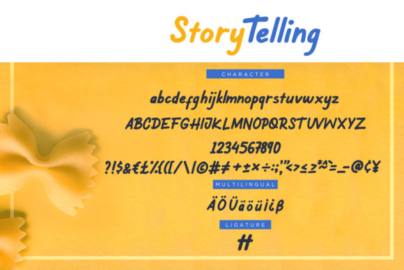 Print on Demand: Story Telling Sans Serif Font By CreatypeStudio - Image 7