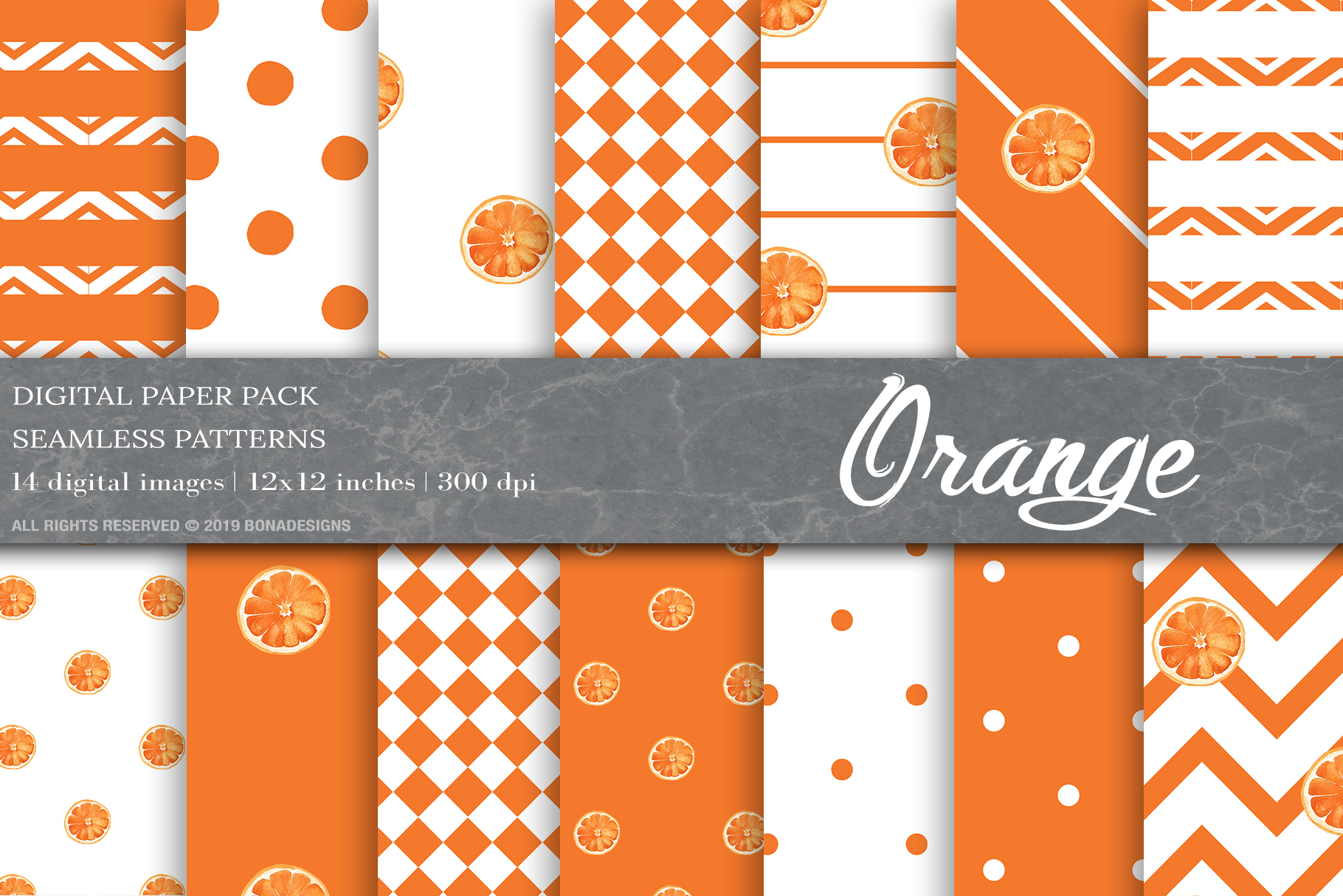 Download Free Summer Digital Papers Fruit Patterns Graphic By Bonadesigns for Cricut Explore, Silhouette and other cutting machines.