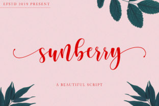 Sunberry Font By Ef Studio