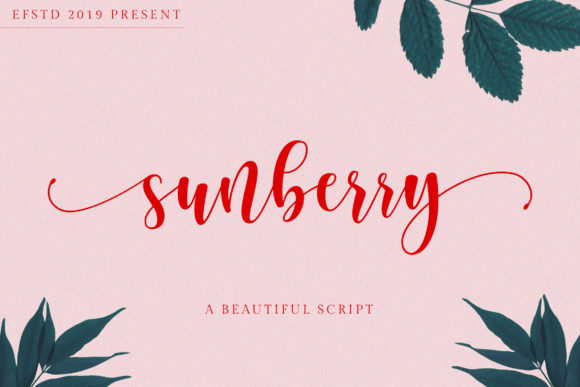 Sunberry Font By Ef Studio Image 1