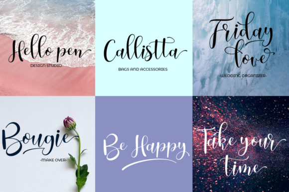 Sunday Love Font By Natural Ink Image 5