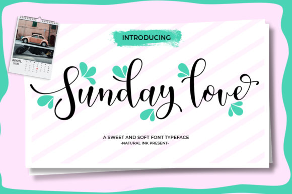 Print on Demand: Sunday Love Script & Handwritten Font By Natural Ink