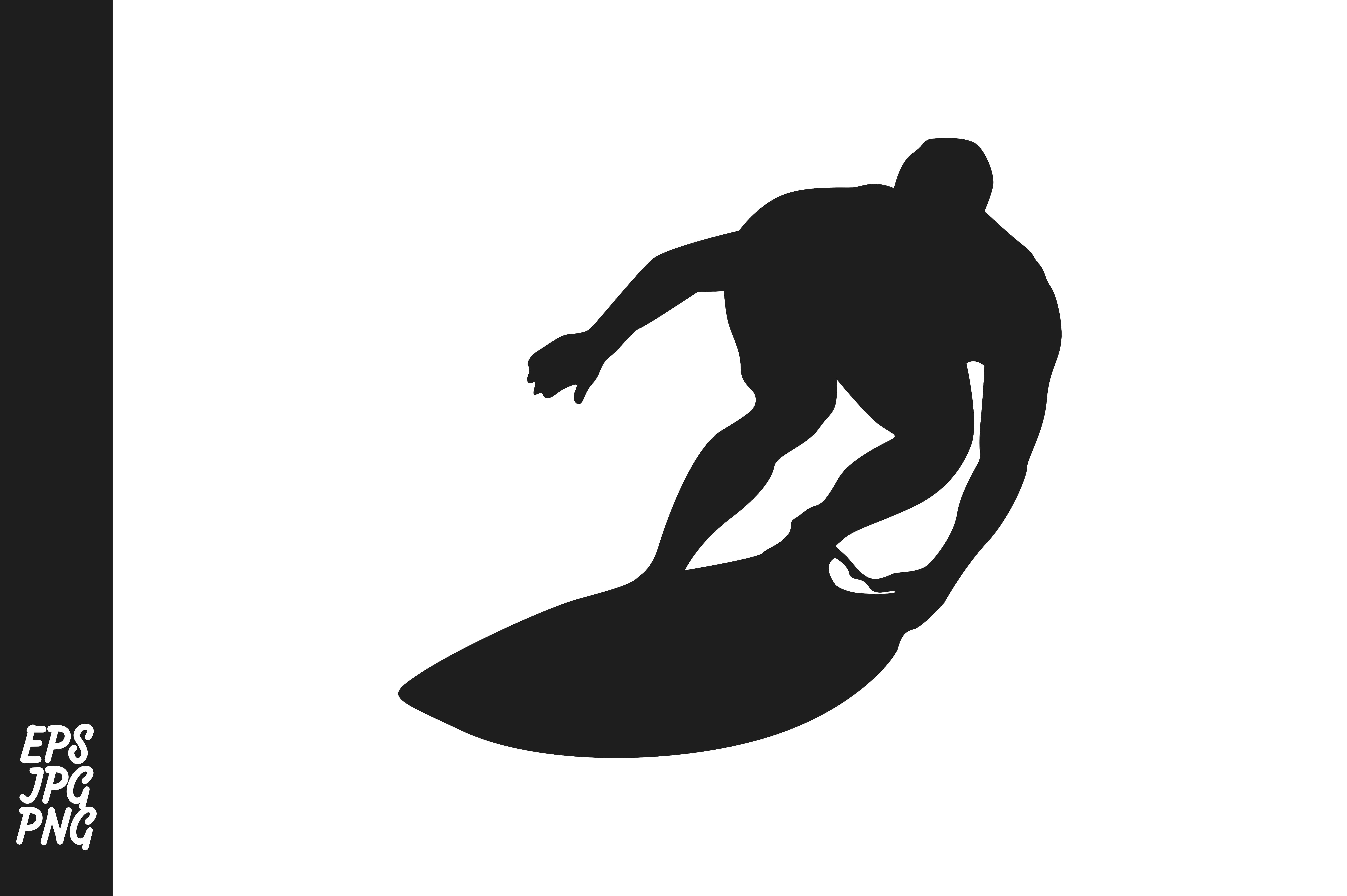 Download Free Surfers Silhouette Graphic By Arief Sapta Adjie Creative Fabrica for Cricut Explore, Silhouette and other cutting machines.