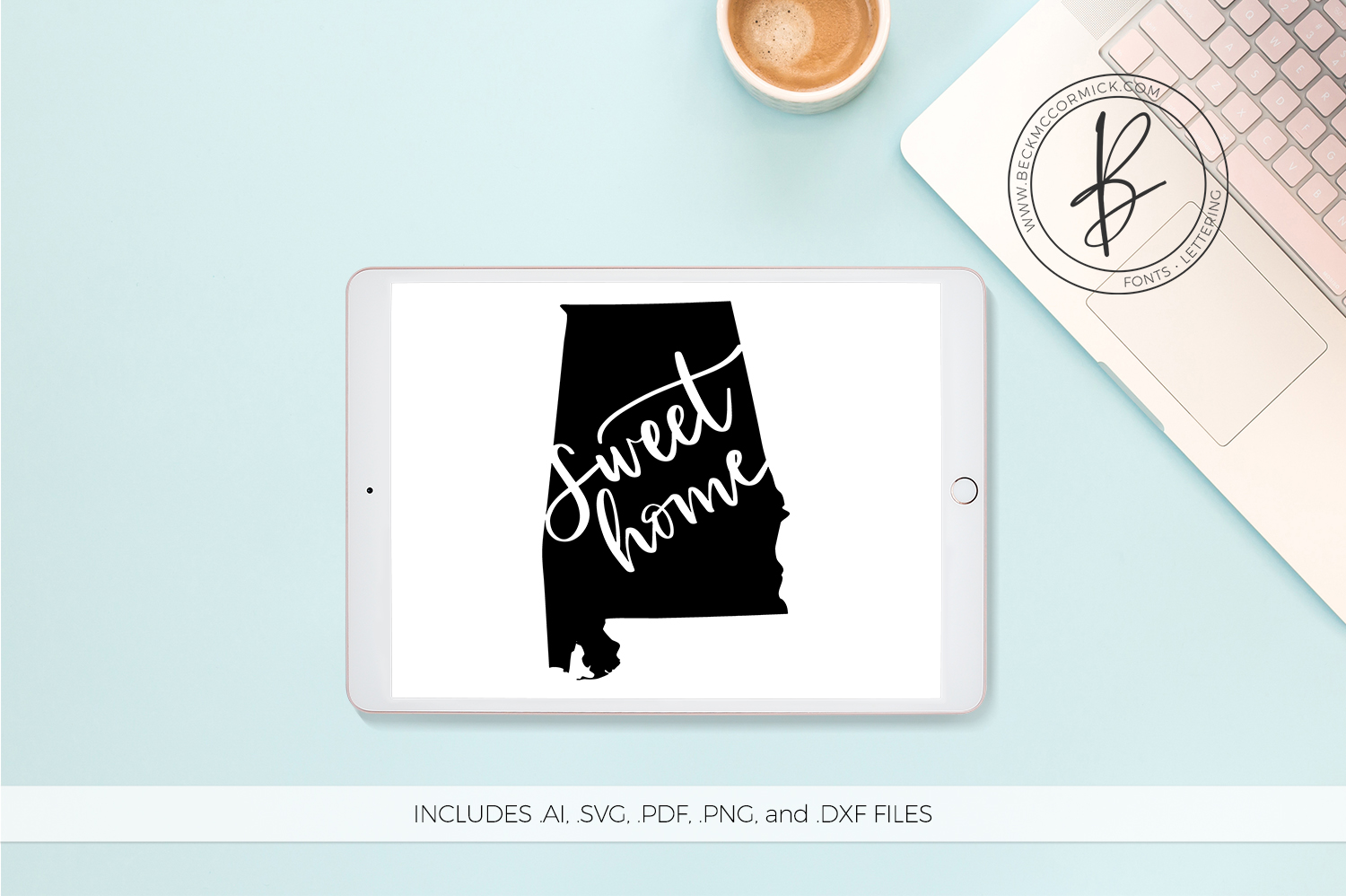 Download Free Sweet Home Alabama Graphic By Beckmccormick Creative Fabrica for Cricut Explore, Silhouette and other cutting machines.