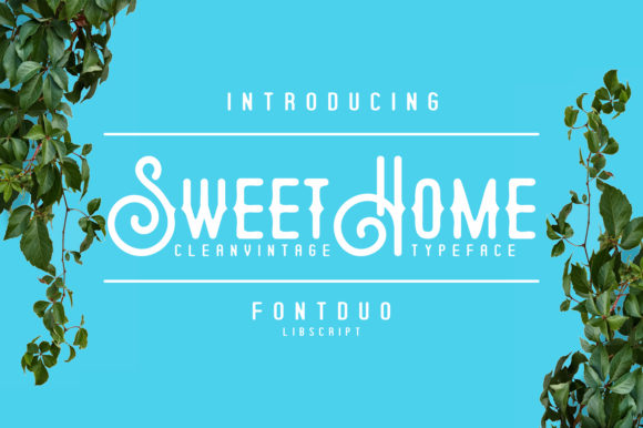 Print on Demand: Sweethome Display Font By Libscript