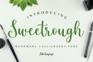 Sweetrough Script & Handwritten Font By Sibelumpagi Studio