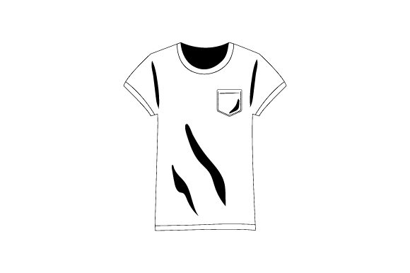 Download Free T Shirt With Pocket Svg Cut File By Creative Fabrica Crafts for Cricut Explore, Silhouette and other cutting machines.
