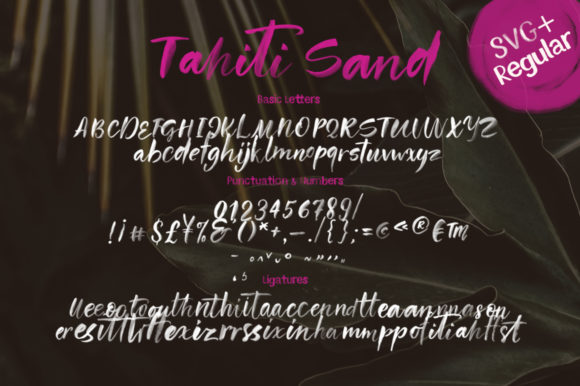 Tahiti Sand Font By Red Ink Image 18