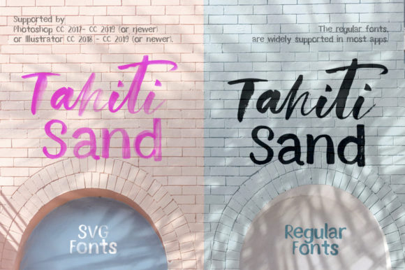 Tahiti Sand Font By Red Ink Image 3