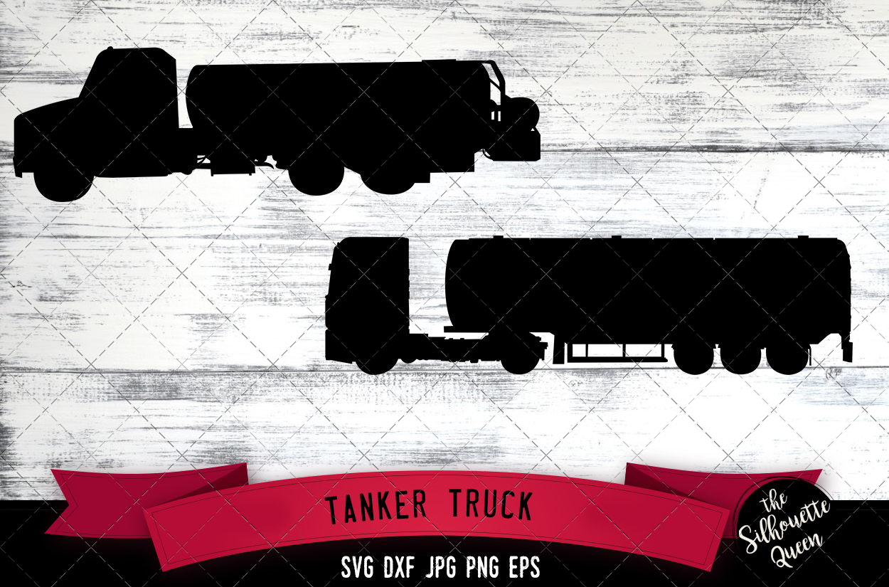 Download Free Tanker Truck Graphic By Thesilhouettequeenshop Creative Fabrica for Cricut Explore, Silhouette and other cutting machines.