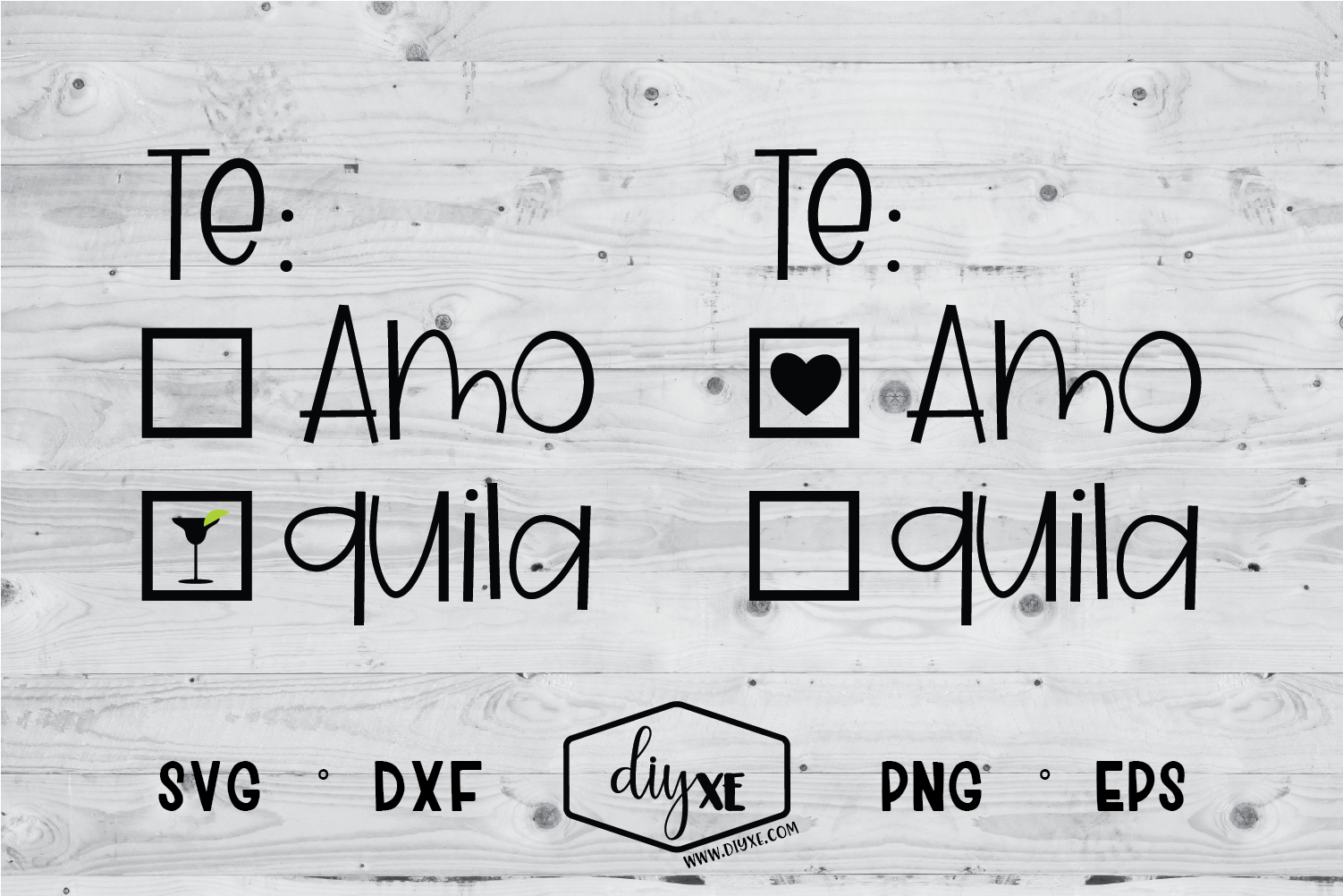 Download Free Te Amo Tequila Graphic By Sheryl Holst Creative Fabrica for Cricut Explore, Silhouette and other cutting machines.