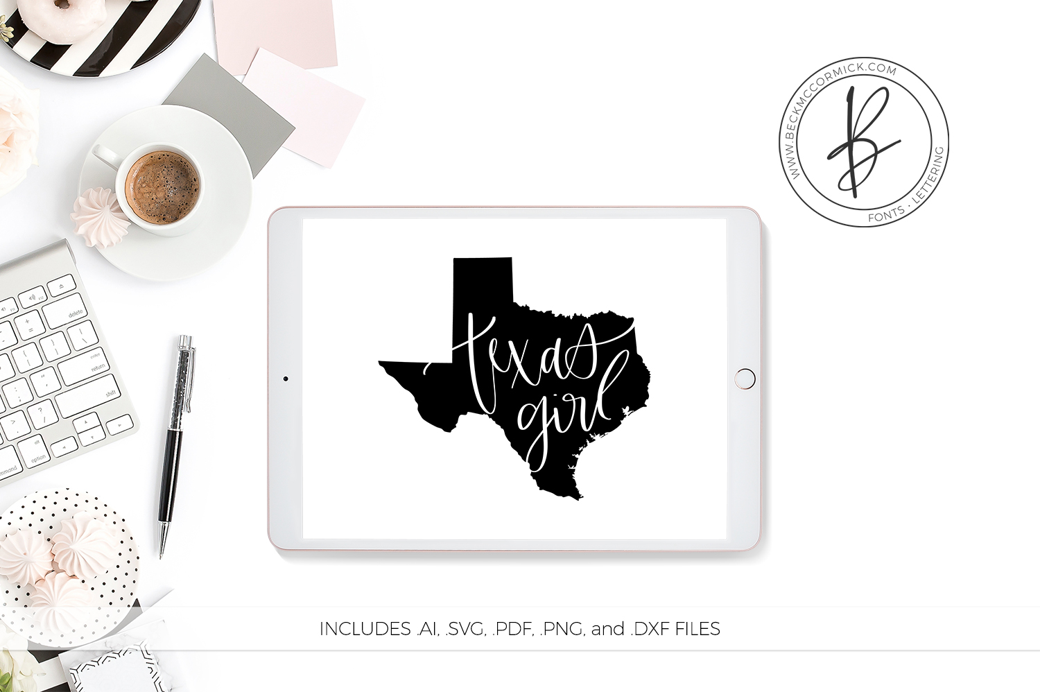 Texas Girl Graphic By Beckmccormick Creative Fabrica