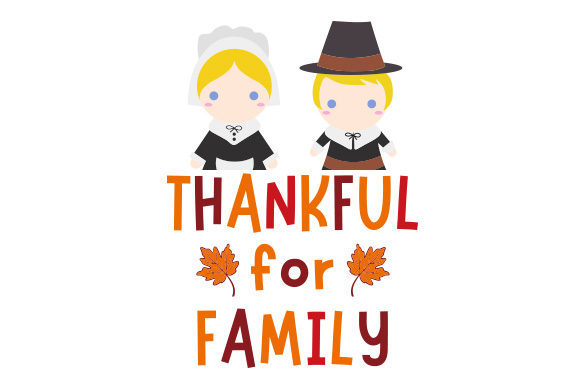 Download Free Thankful For Family Svg Cut File By Creative Fabrica Crafts SVG Cut Files