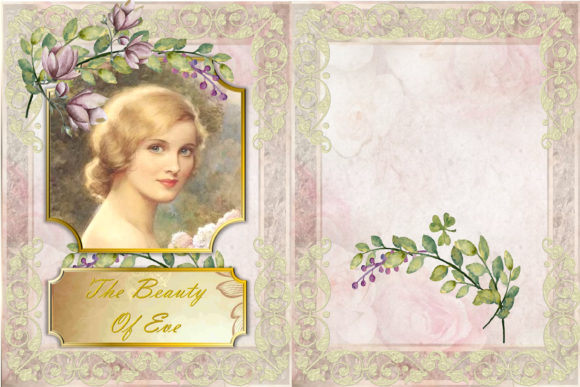 Print on Demand: The Beauty of Eve Scrapbooking Kit Graphic Crafts By The Paper Princess - Image 2
