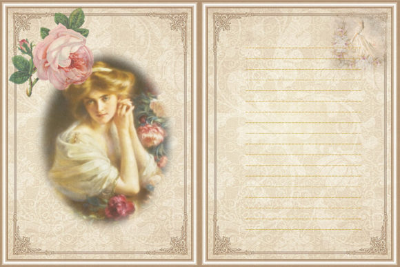 Print on Demand: The Beauty of Eve Scrapbooking Kit Graphic Crafts By The Paper Princess - Image 4