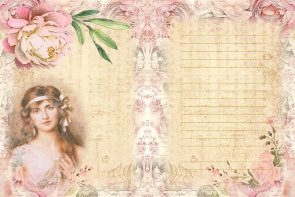 Print on Demand: The Beauty of Eve Scrapbooking Kit Graphic Crafts By The Paper Princess - Image 5
