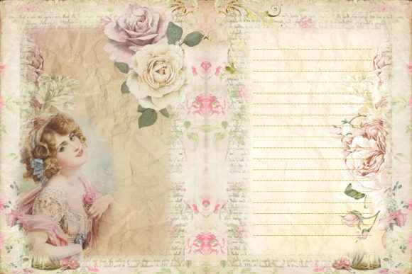 Print on Demand: The Beauty of Eve Scrapbooking Kit Graphic Crafts By The Paper Princess - Image 6