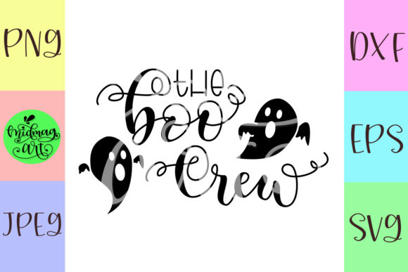 Download Free The Boo Crew Graphic By Midmagart Creative Fabrica SVG Cut Files
