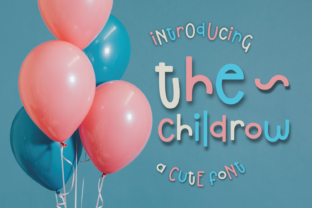 The Childrow Font By Dani (7NTypes)