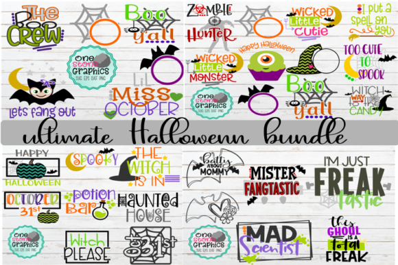 The Ultimate Halloween Bundle Graphic By OneStoneGraphics Image 1