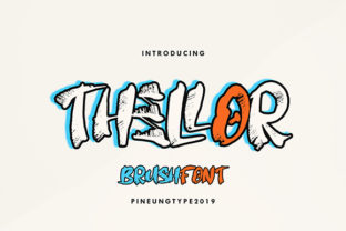 Thellor Font By missinklab