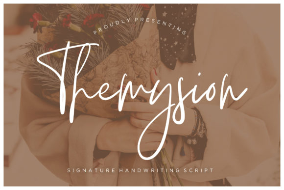 Print on Demand: Themysion Script & Handwritten Font By CreatypeStudio