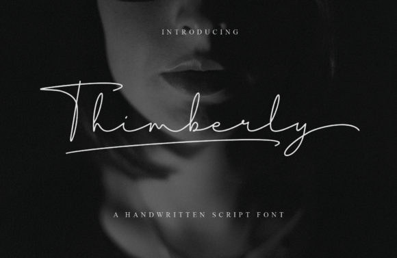 Print on Demand: Thimberly Script & Handwritten Font By Febri Creative