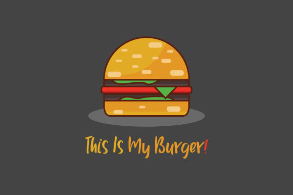 This is My Burger! Graphic Illustrations By namsore